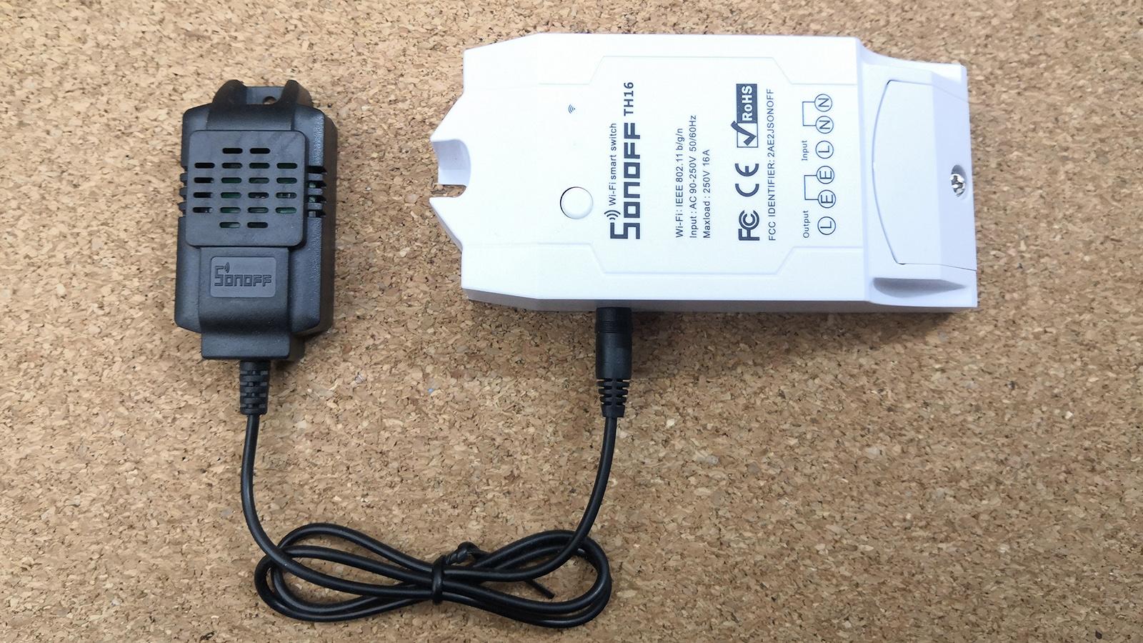 Chytrá domácnost - Sonoff termostat s čidlem