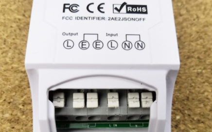 Chytrá domácnost - Sonoff termostat konektory