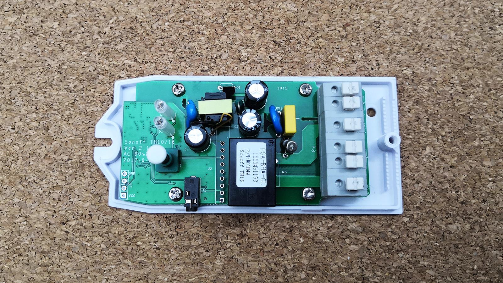 Chytrá domácnost - Sonoff termostat PCB