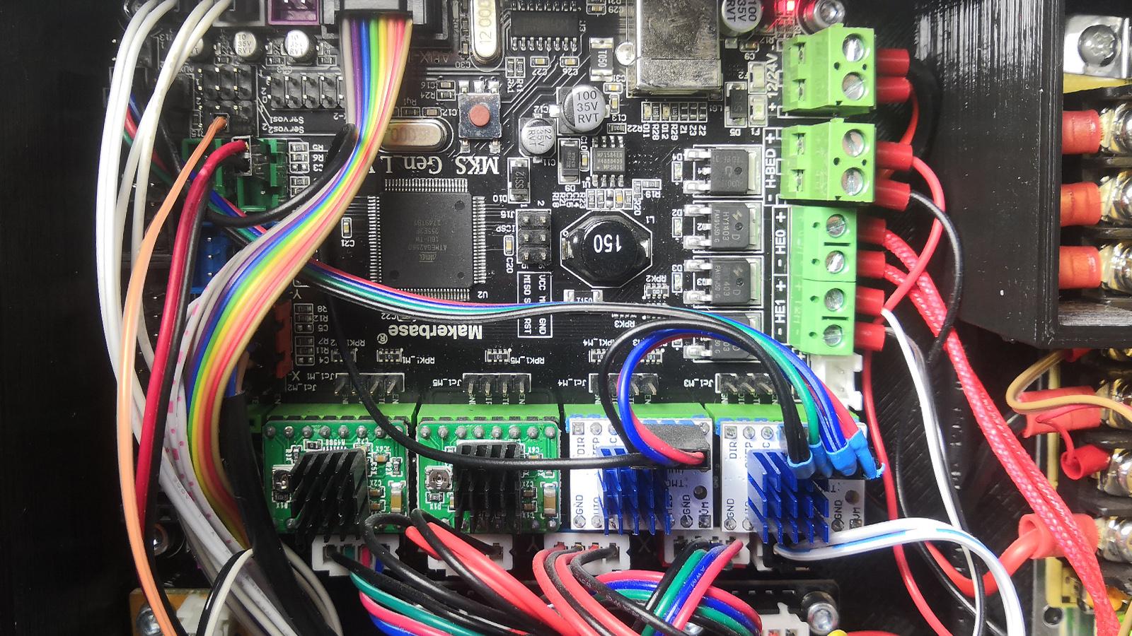 3D tiskárna - SPI pro TMC 2130