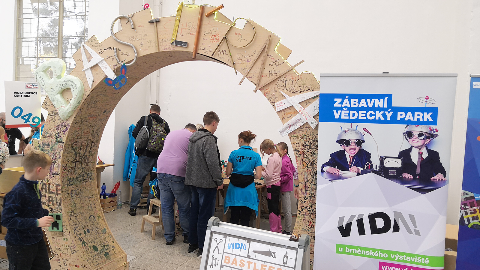 Mini Maker Faire Brno - VIDA!
