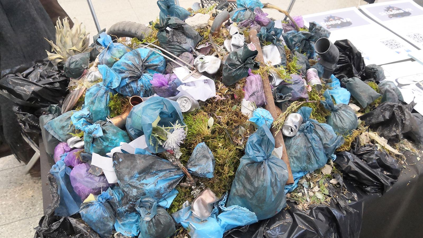 Mini Maker Faire Brno - odpad