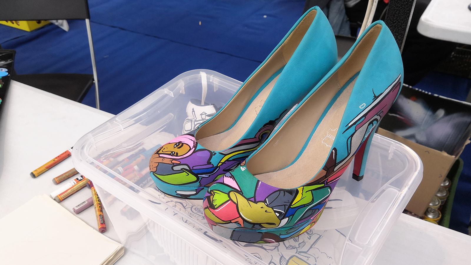 Mini Maker Faire Brno - shoes