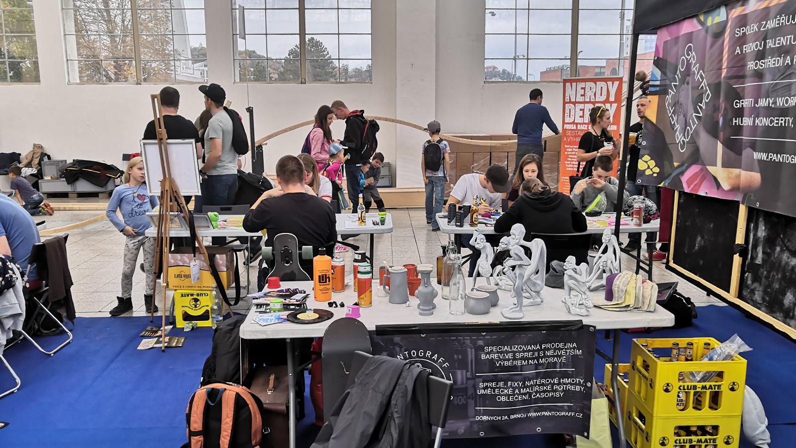 Mini Maker Faire Brno