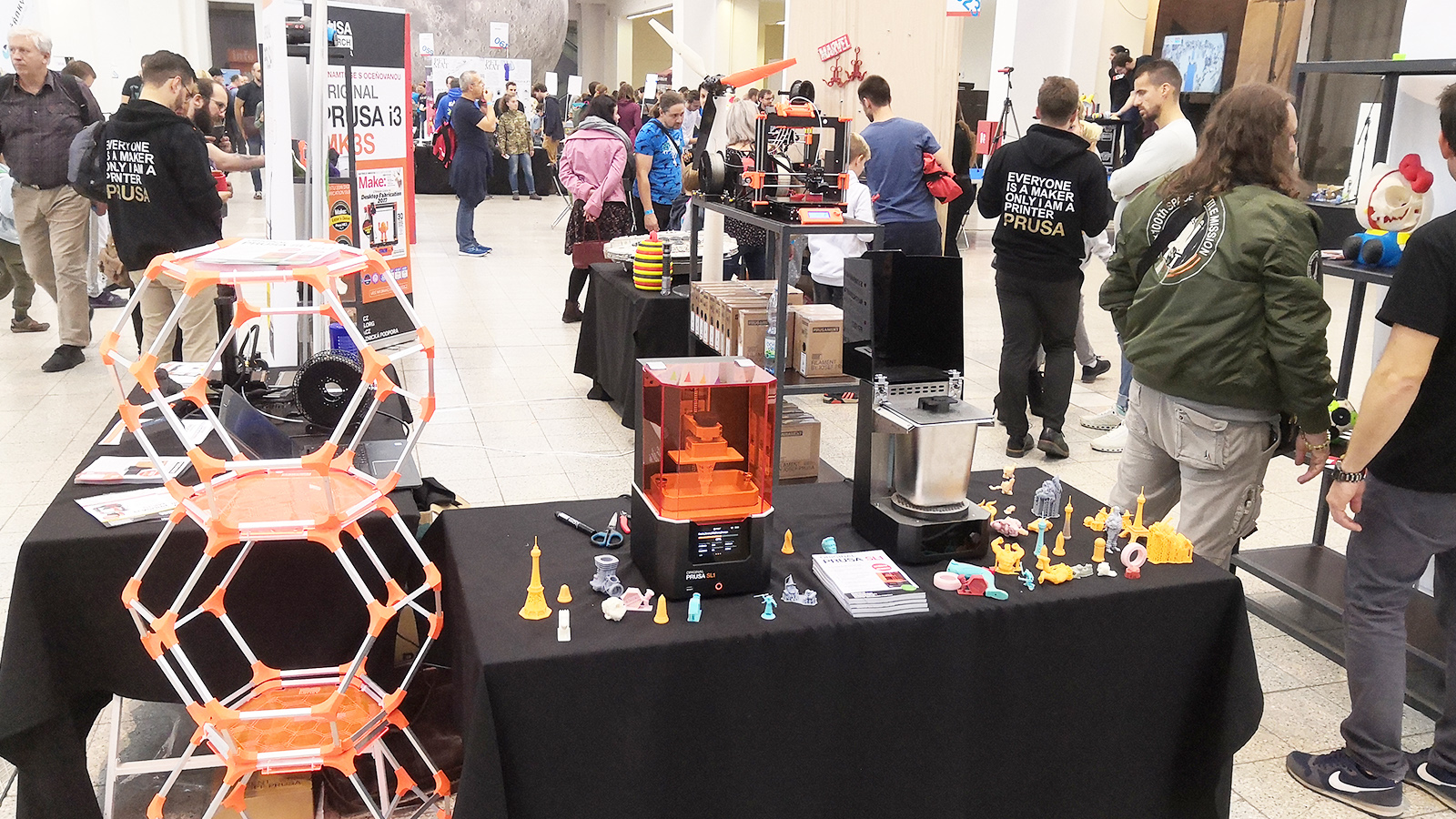 Original Prusa SL1 Prusa Research Mini Maker Faire Brno