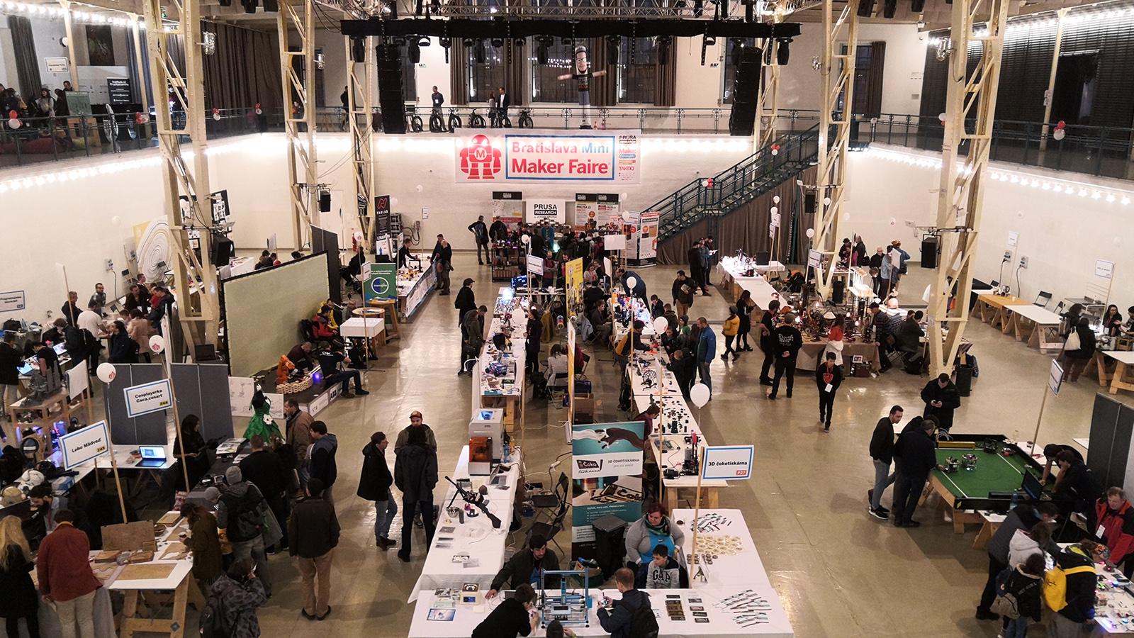 Mini Maker Faire Bratislava