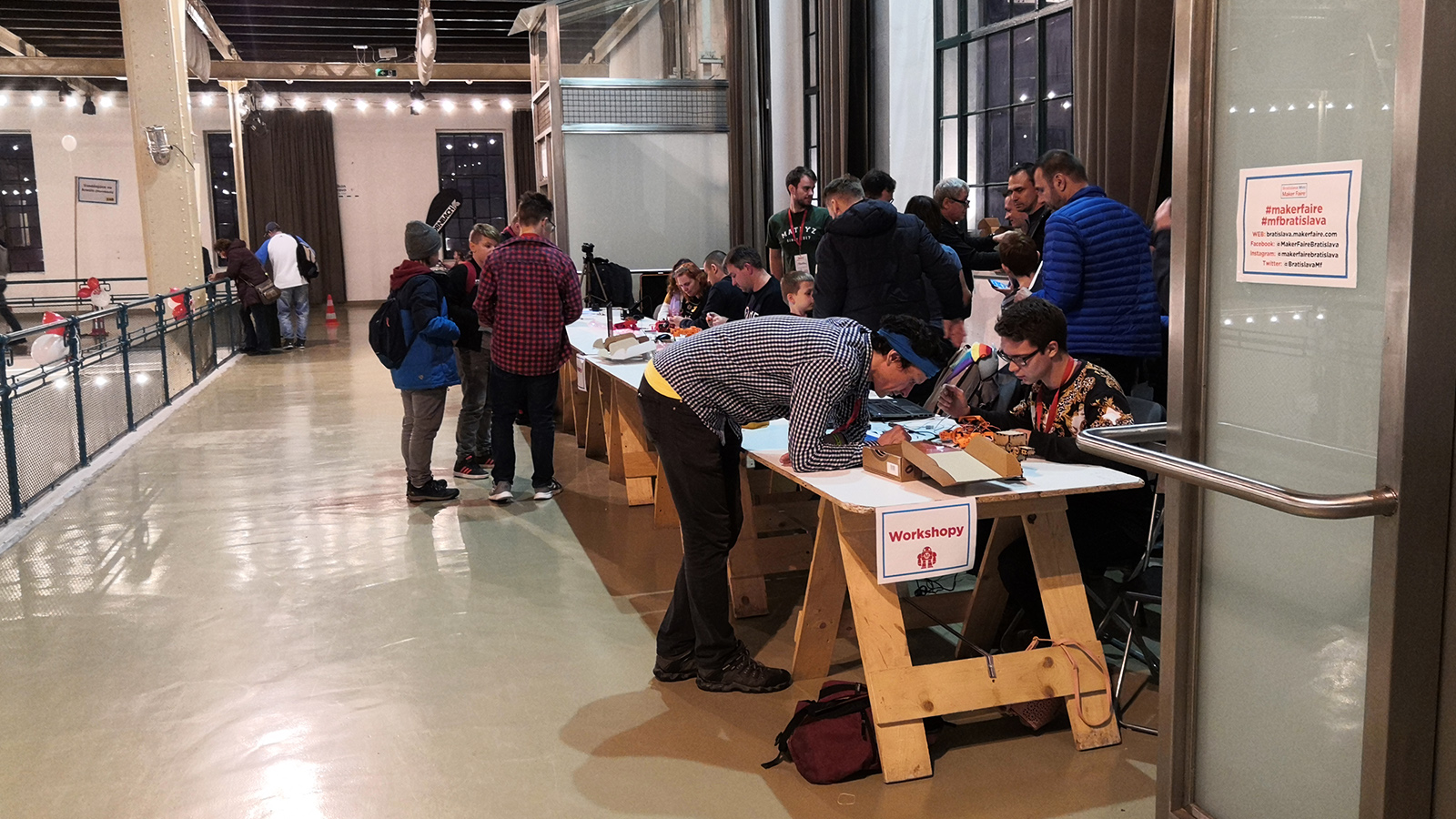 Workshopy Mini Maker Faire Bratislava
