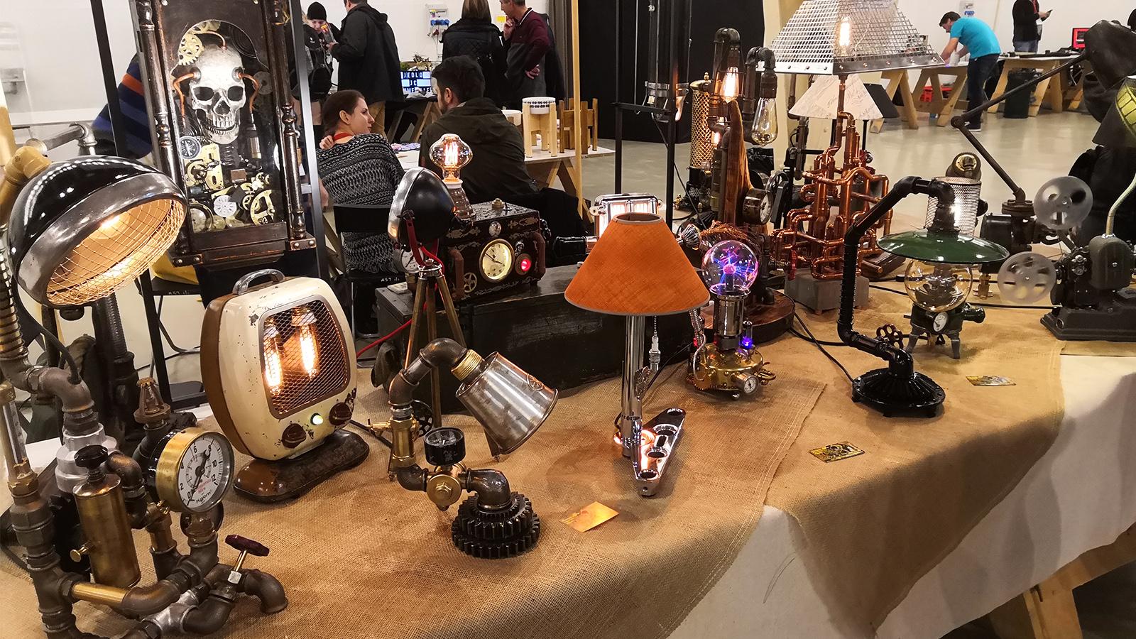 Steampunk vintage Mini Maker Faire Bratislava