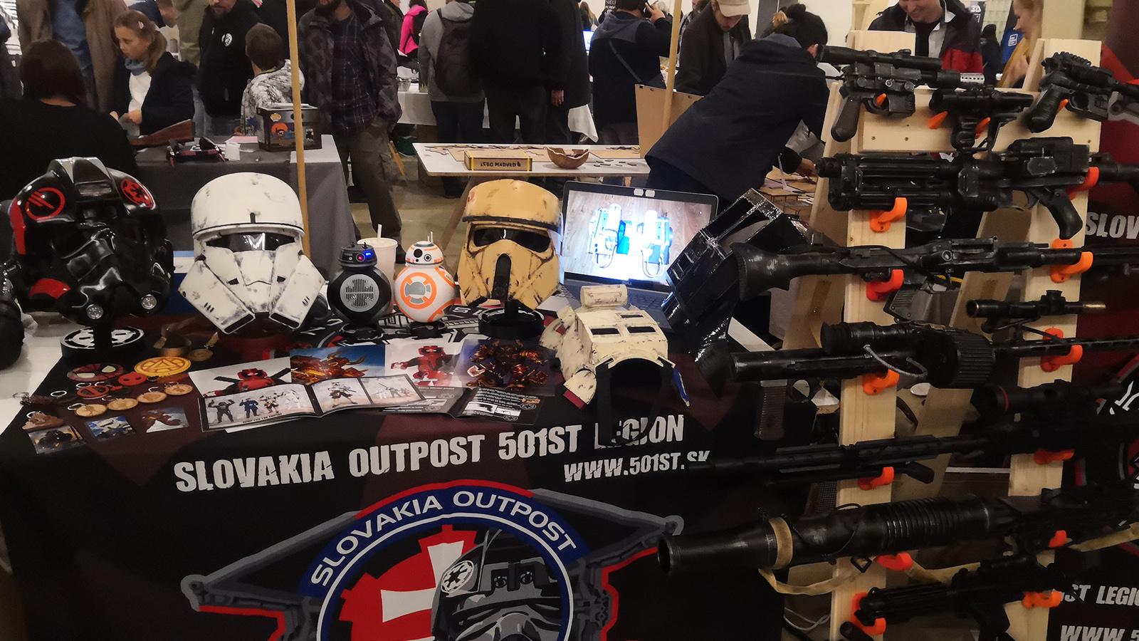 Cosplay Mini Maker Faire Bratislava
