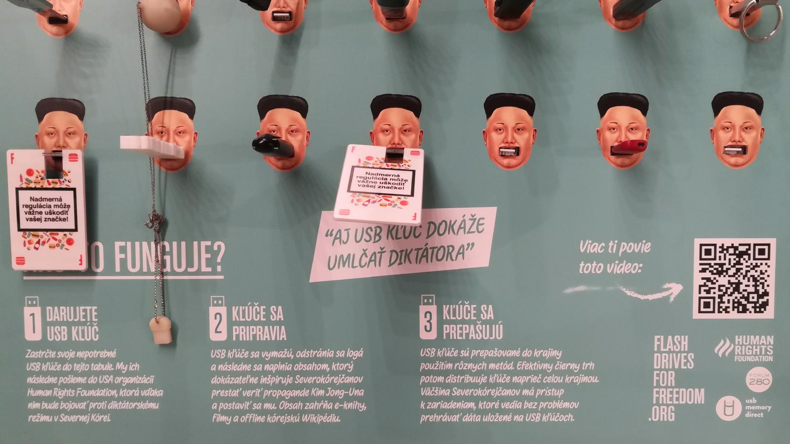 Human Rights - Svoboda v Severní Korei Mini Maker Faire Bratislava