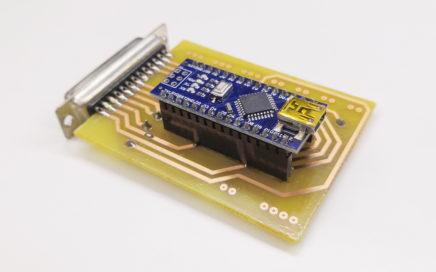GRBL převodník - real PCB