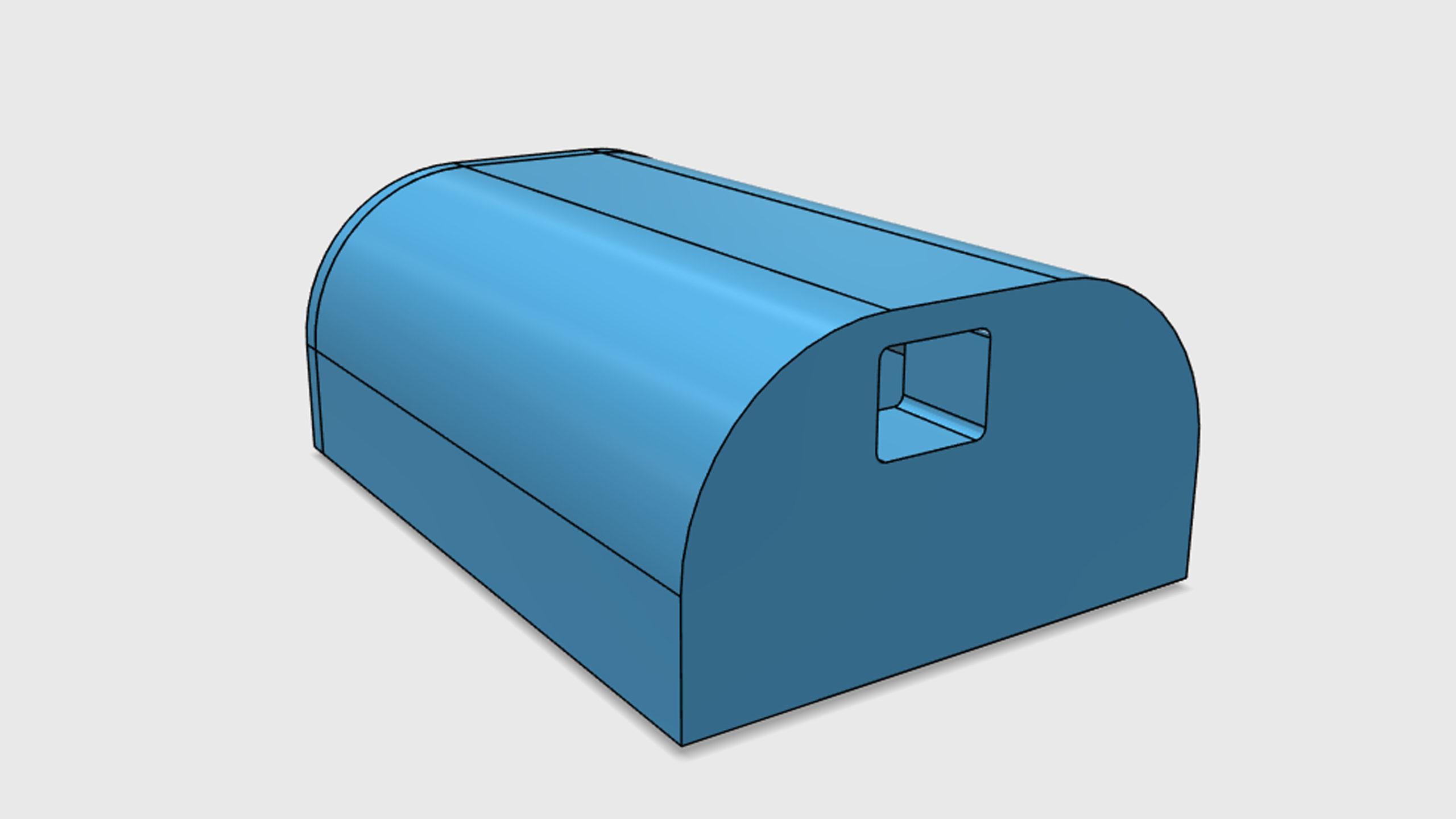Model pouzdra pro GRBL převodník - USB
