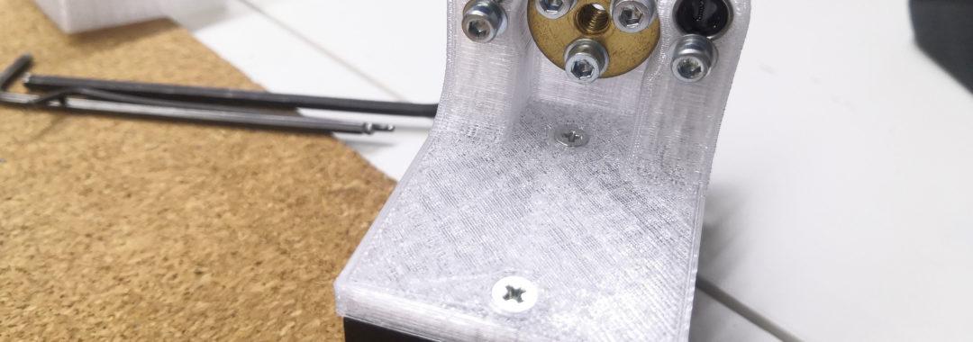 20W laser - mechanika osy Z
