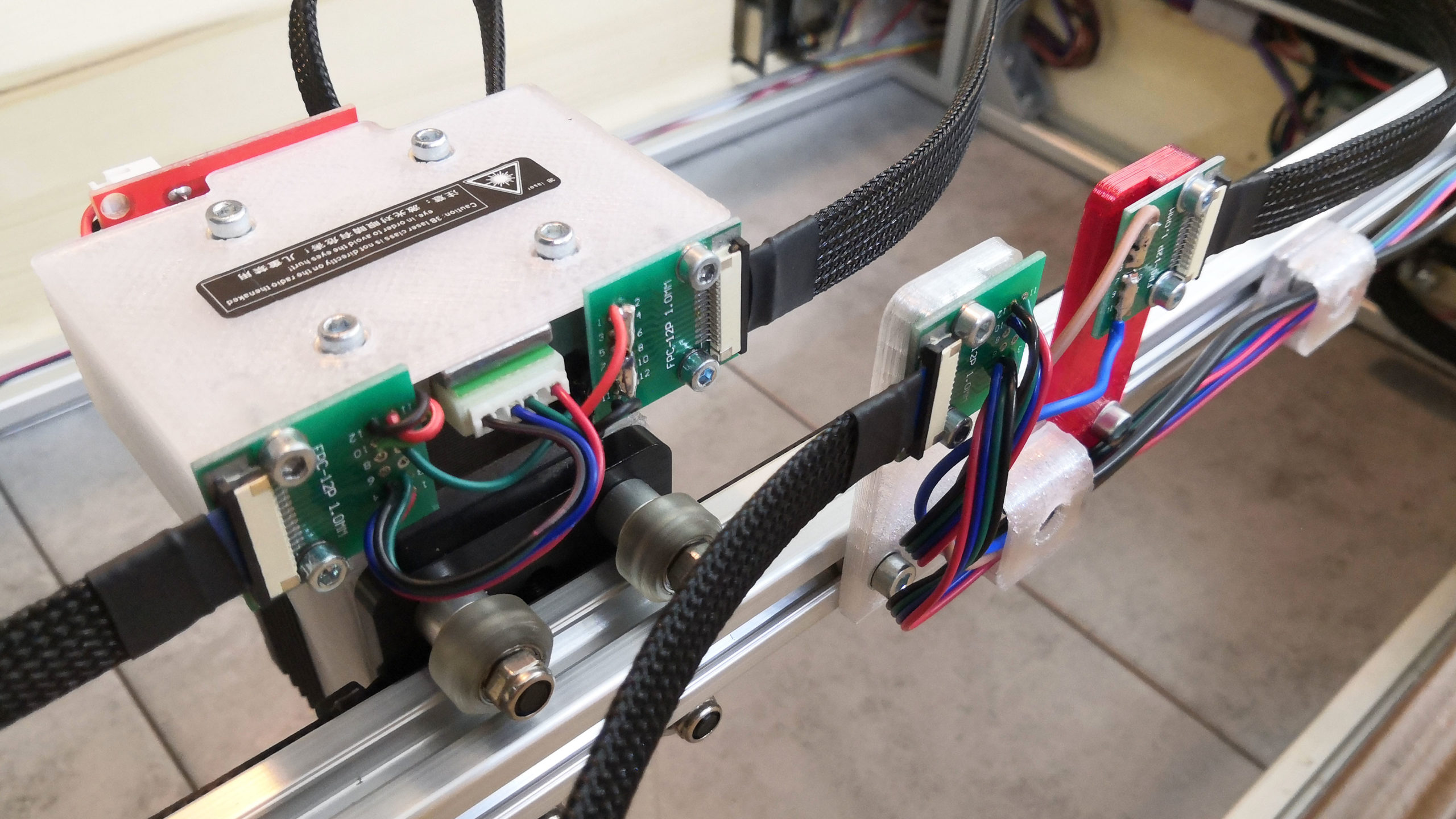 20W laser - posílení napájení
