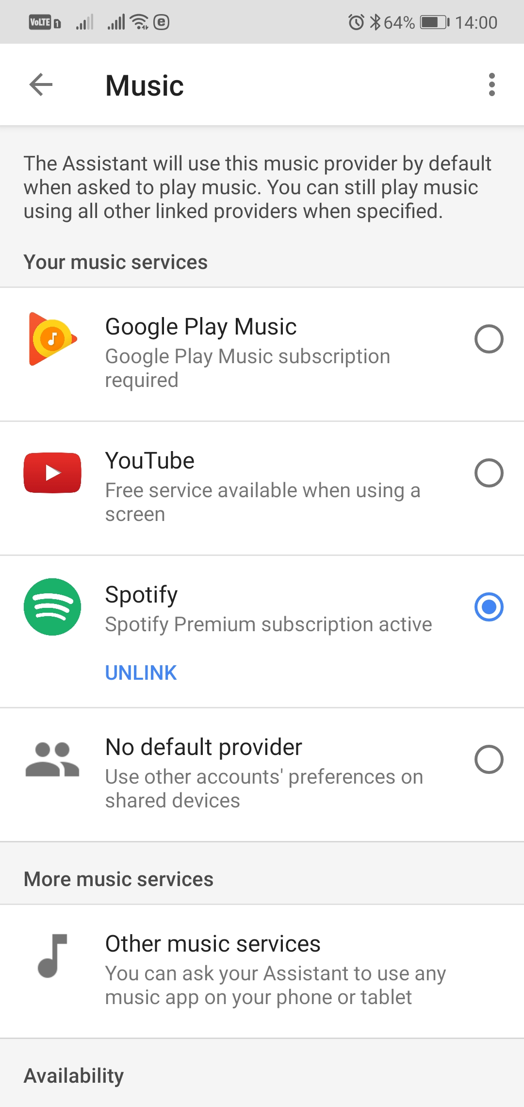 Google Home Music