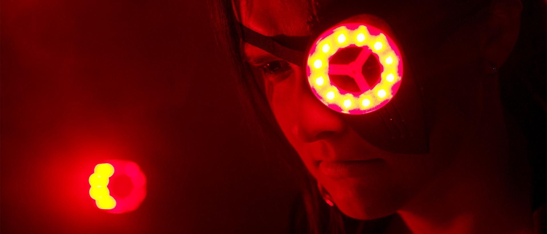 The Blaster II - artificial eye