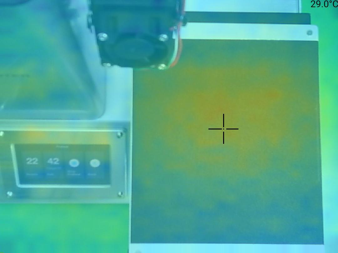 Monoprice Select Mini Pro 3D Printer - Teplota 29 střed