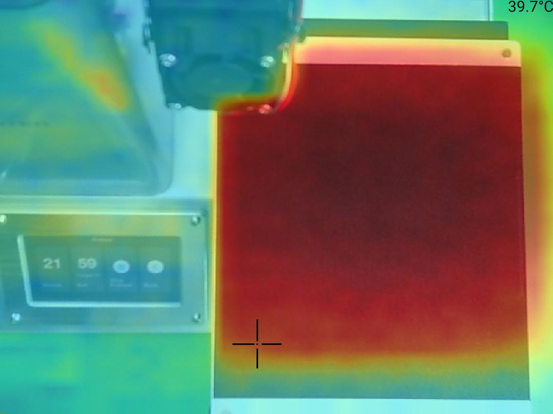Monoprice Select Mini Pro 3D Printer - Teplota 40 okraj