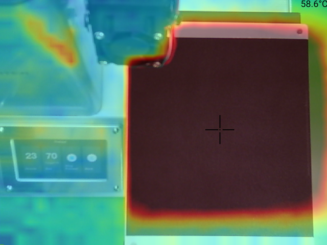 Monoprice Select Mini Pro 3D Printer - Teplota 59 střed
