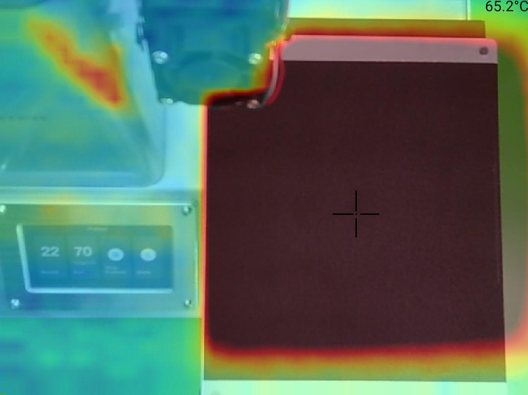 Monoprice Select Mini Pro 3D Printer - Teplota 65 střed
