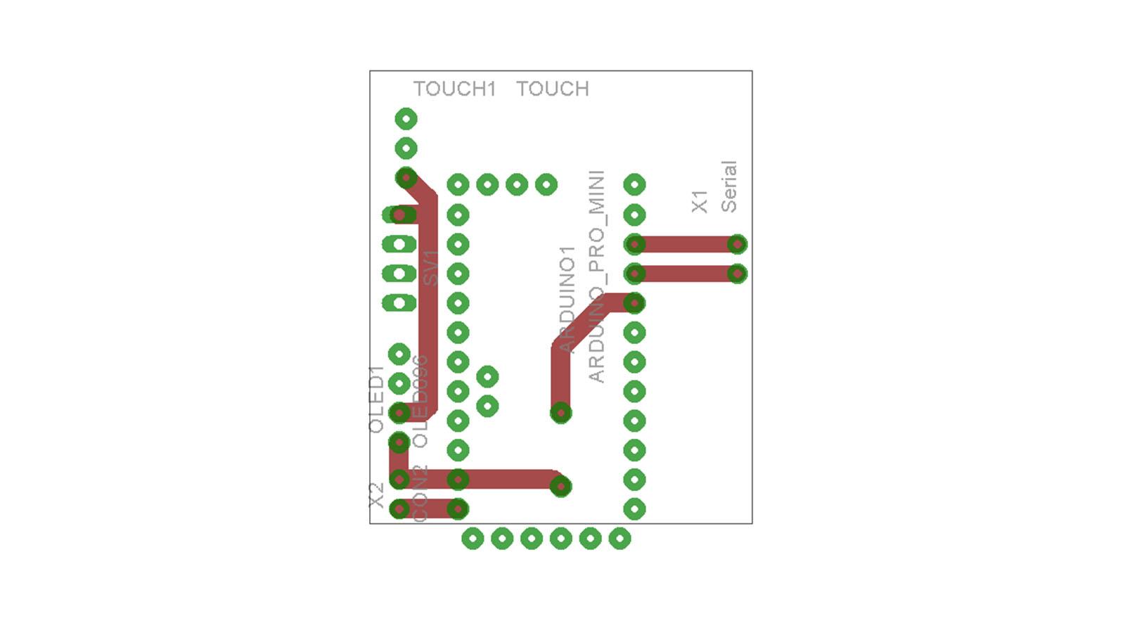 PCB měřiče CO2