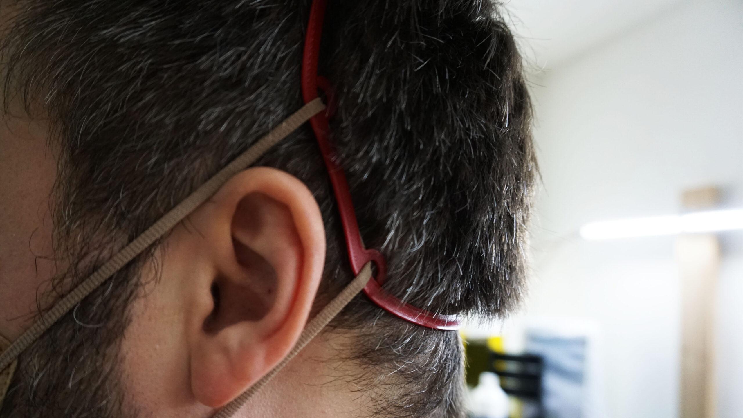 Ear saver pravá strana