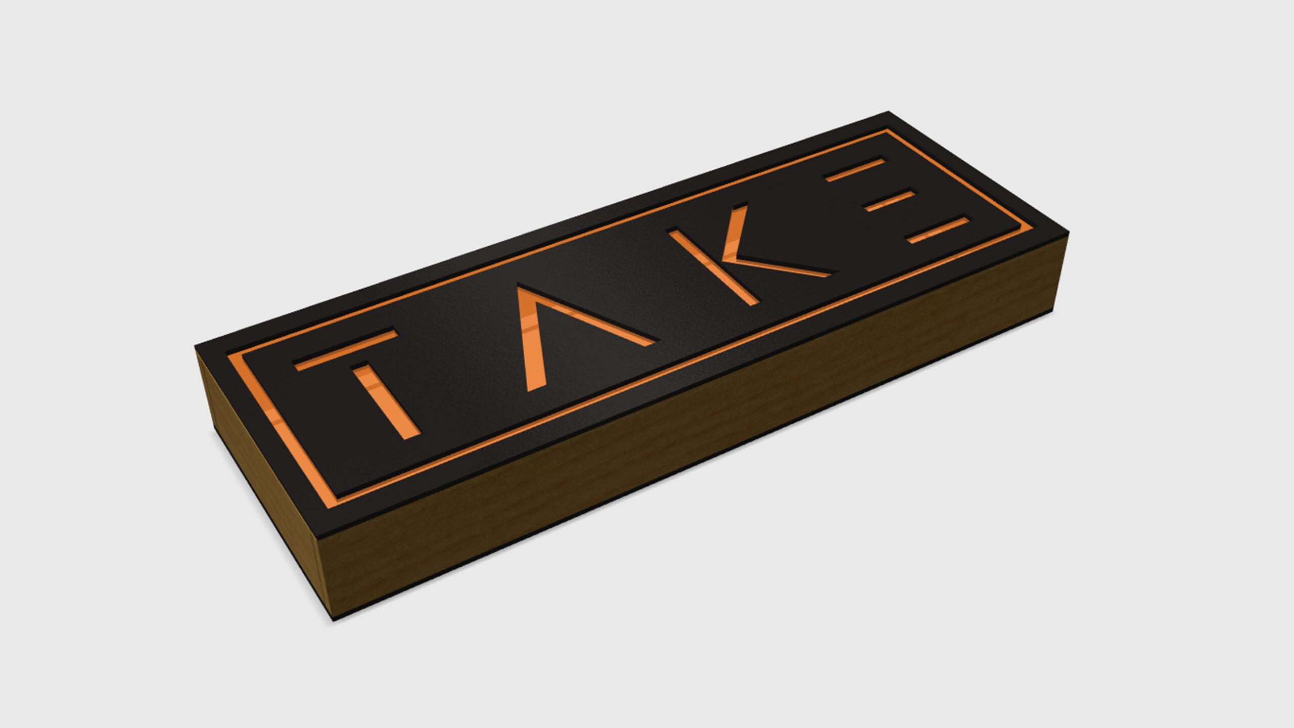 TAKE - model z úhlu