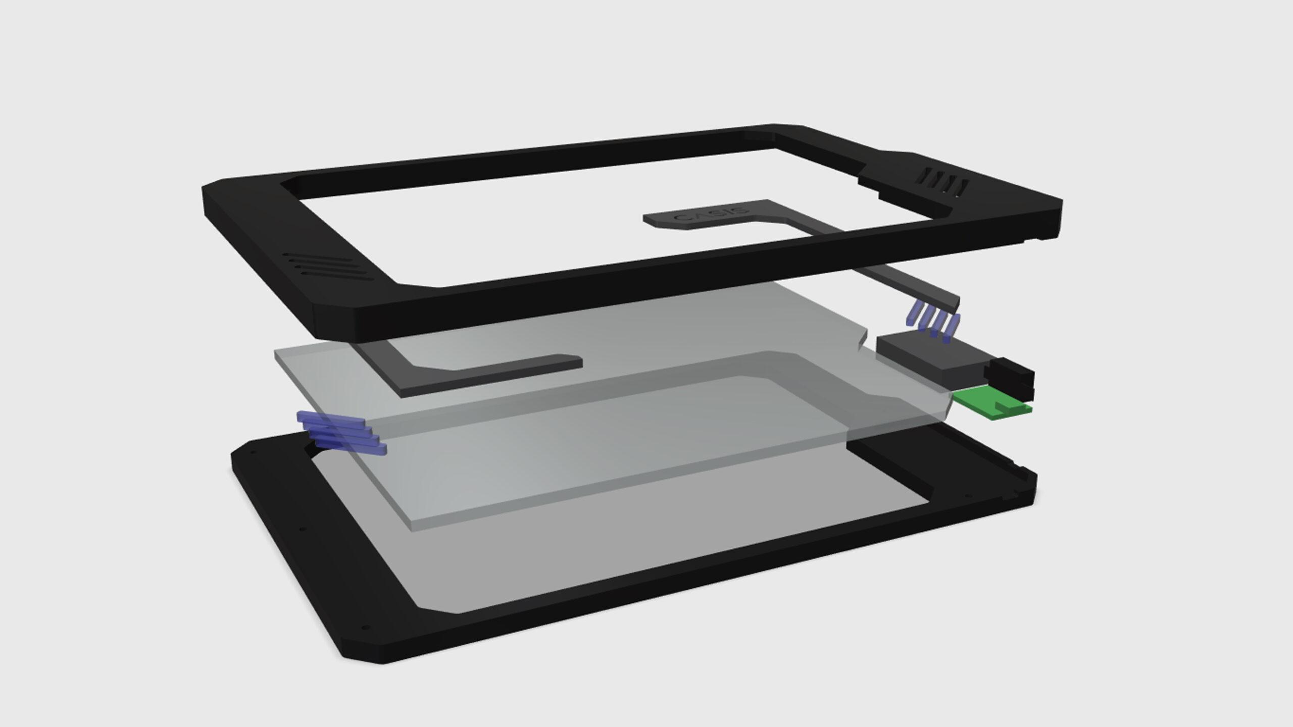 Tablet - model explode
