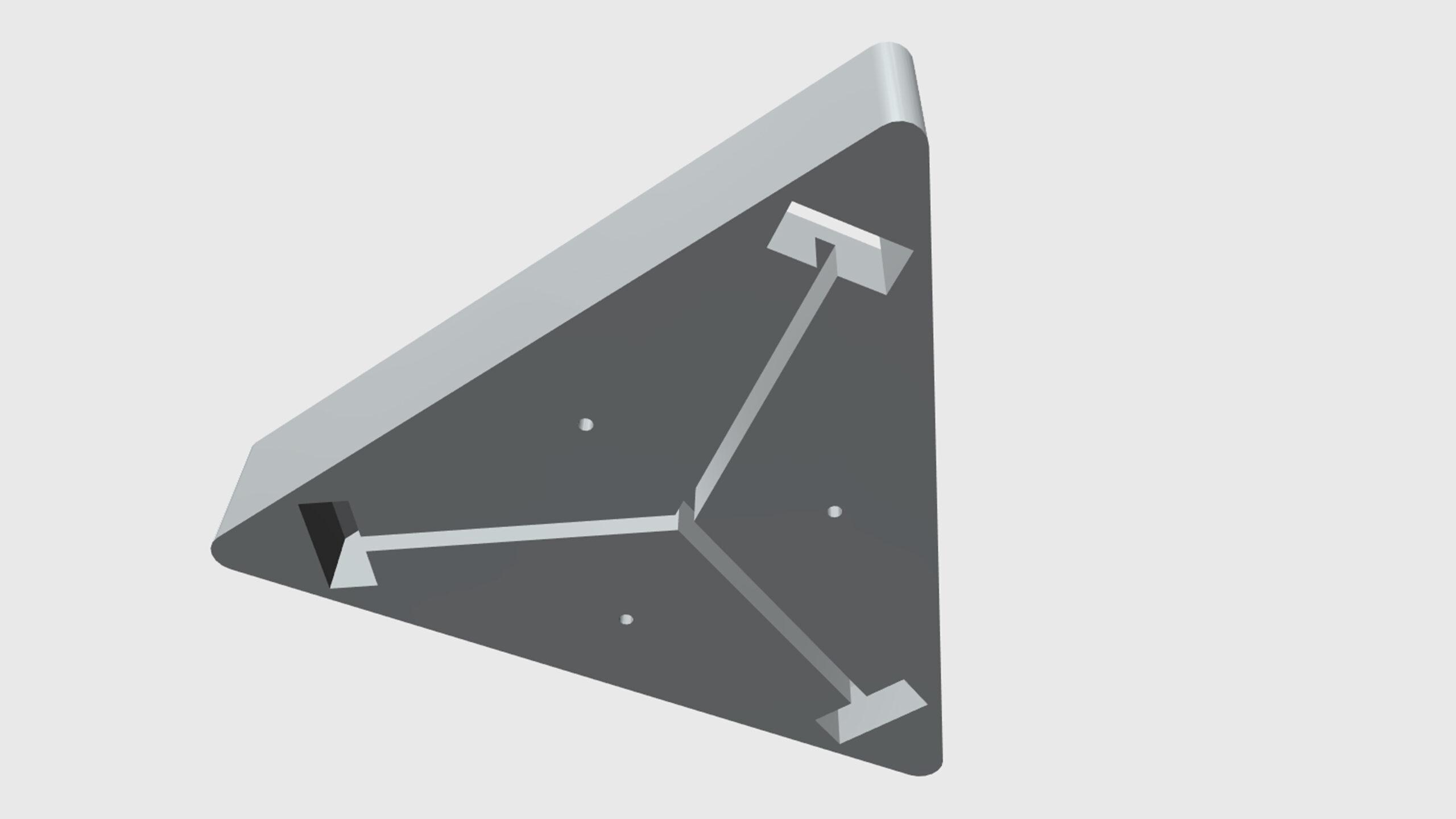Aura - model - podhled
