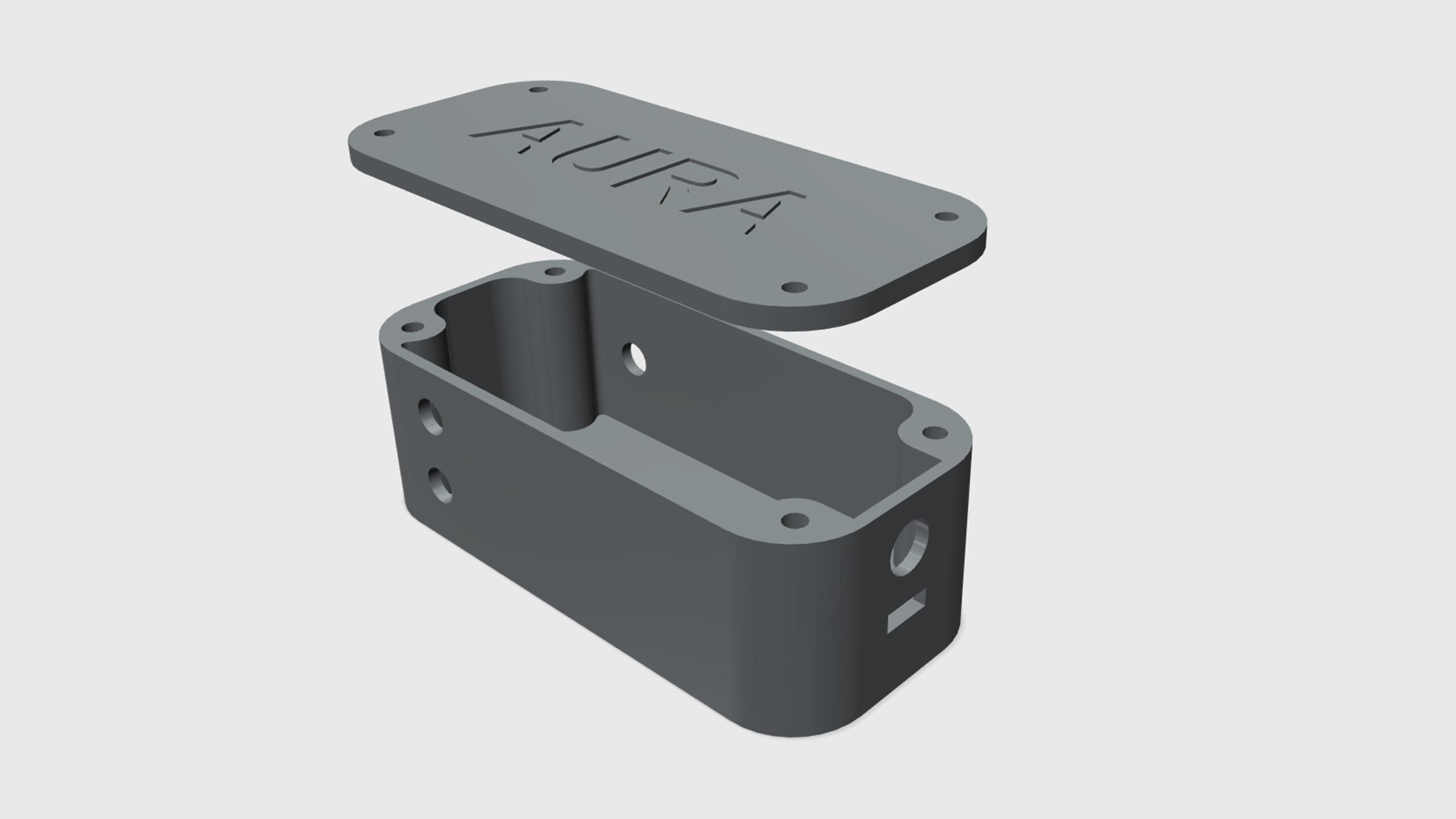 Aura - model pouzdra elektroniky