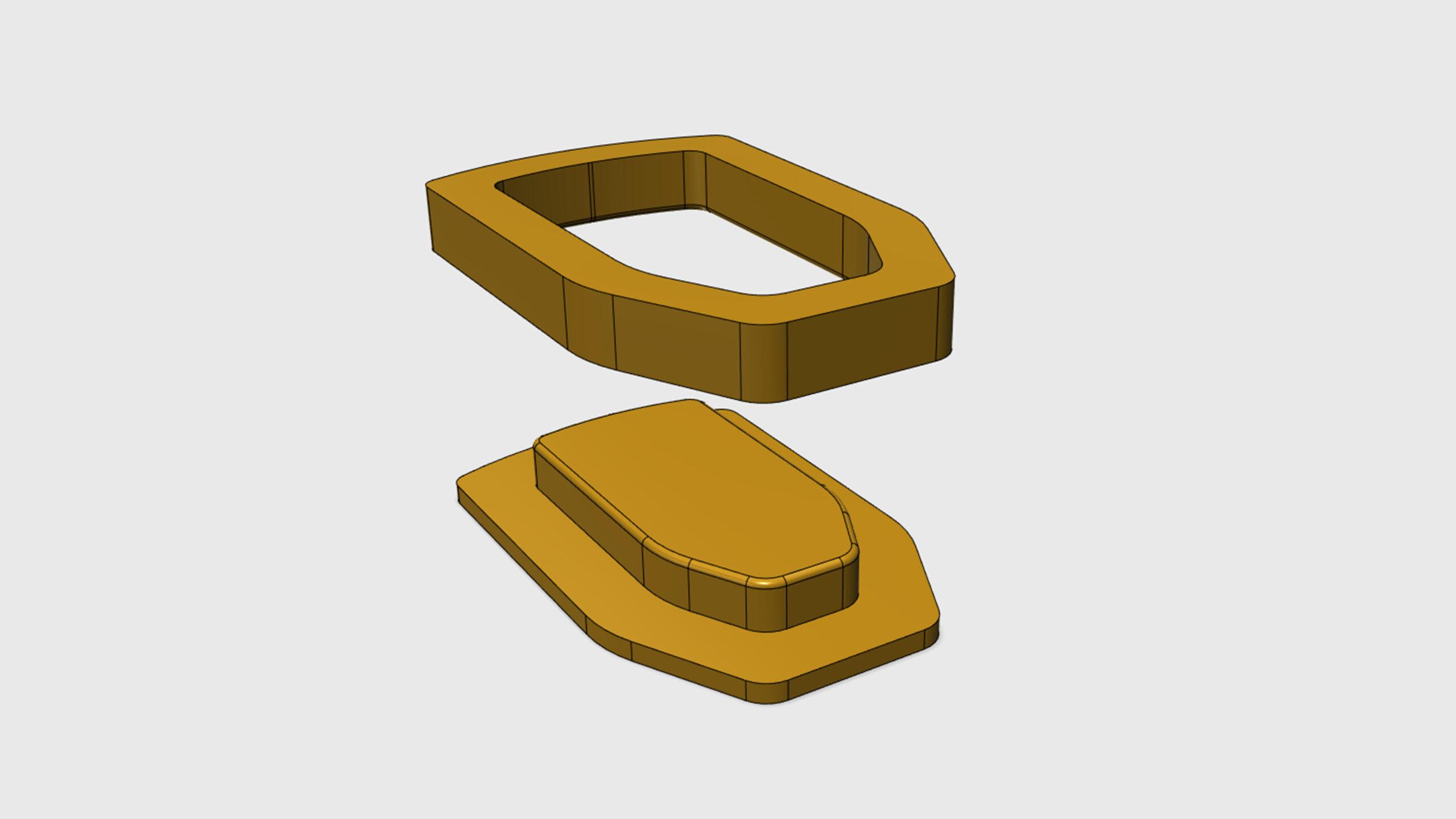 3D model kopyta